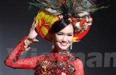 """Thúy Vy sẽ """"hóa"""" chim công trong Miss World 2011"""
