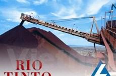 """Trung Quốc có """"đầy đủ bằng chứng"""" vụ Rio Tinto"""