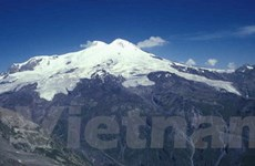 Nga nghiên cứu lớp băng đá trên đỉnh núi Elbrus