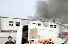 Người Việt thiệt hại nặng vụ cháy chợ Ba Lan