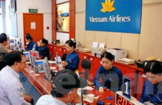 Vietnam Airlines thử nghiệm làm thủ tục trực tuyến