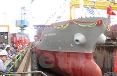 Hạ thủy tàu chở hóa chất trọng tải 13.000 tấn
