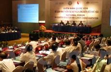 Việt Nam coi trọng công tác phòng ngừa thiên tai