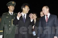 Trung Quốc-Nga ký một loạt thỏa thuận thương mại