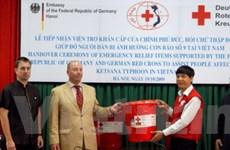 Đức hỗ trợ các nạn nhân bão Ketsana ở Việt Nam