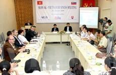 Gặp gỡ doanh nghiệp Việt Nam-Slovakia tại Hà Nội