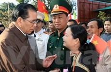 Tổng Bí thư Nông Đức Mạnh làm việc tại Đắk Lắk
