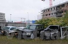 Hơn 500 xe ôtô ở Đức hư hại do các vụ đốt phá