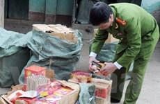 Lào Cai liên tục bắt các vụ buôn bán pháo lậu