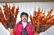 Vua kebab chuẩn bị 60 tấn thịt cừu cho dịp Tết