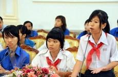 Lãnh đạo TP.HCM lắng nghe tiếng nói của trẻ em