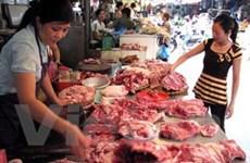 Giá thực phẩm Tết tại Hà Nội đang tăng mạnh