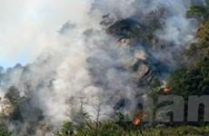 Cháy lớn tại Công ty vật tư bưu điện ở TP.HCM