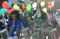 Sôi động lễ hội truyền thống ở Basel của Thụy Sĩ