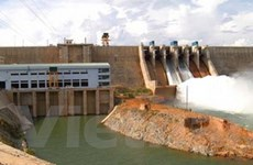 Thủy điện giảm công suất đáng kể vì hồ cạn nước