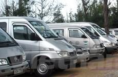 Tổng lượng xe trong nước bán ra giảm mạnh