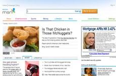 Microsoft thay đổi giao diện cổng thông tin MSN