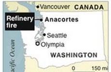 Nổ nhà máy lọc dầu tại bang Washington của Mỹ