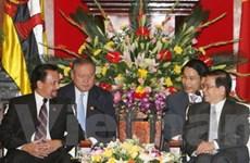 Việt Nam muốn hợp tác đầu tư, thủy sản với Brunei
