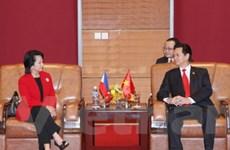 Việt Nam muốn hợp tác mạnh hơn với Philippines