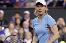 Ngôi sao quần vợt Martina Navratilova bị ung thư
