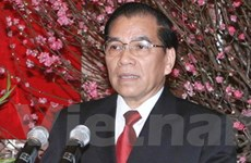 Tăng cường quan hệ hai nước Việt-Lào anh em