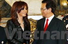 Động lực mới thúc đẩy quan hệ Việt Nam-Argentina