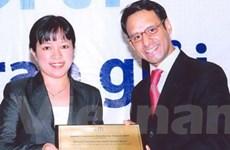 OCB nhận giải thanh toán quốc tế xuất sắc 2009