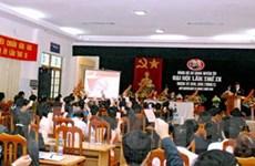 Hậu Giang đã tổ chức xong đại hội đảng cấp cơ sở