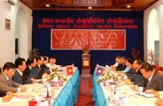 Đoàn Ban tuyên giáo Trung ương Đảng thăm Lào