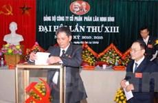 Kinh nghiệm đại hội đảng cấp cơ sở ở Ninh Bình