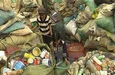 Tái xuất 172 tấn rác bẩn nhập cảng Bình Dương