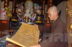 Quảng Ngãi: Phát hiện 18 sắc phong trong chùa cổ