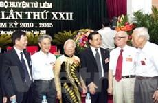 Đại hội điểm bầu trực tiếp bí thư huyện ở Hà Nội