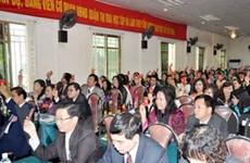 Hà Nội: Tây Hồ tổ chức xong đại hội điểm cấp quận
