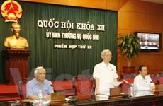 Bàn kế hoạch tổng kết nhiệm kỳ Quốc hội khóa XII