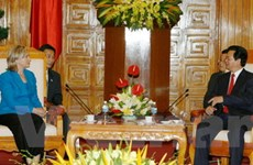 Phát triển quan hệ Việt-Mỹ về chiều rộng, chiều sâu