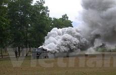 Việt Nam đã chế tạo được thiết bị thả khói cỡ lớn