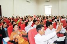 Tỉnh Quảng Ngãi hoàn thành đại hội Đảng cấp cơ sở