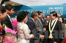 Báo chí đưa đậm về chuyến thăm của Chủ tịch nước