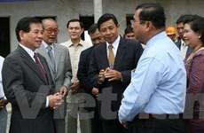Chủ tịch nước kết thúc chuyến thăm Lào, Campuchia