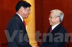 Cơ quan lập pháp Việt Nam và Lào tích cực hợp tác