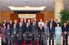 Tổng Bí thư tiếp trưởng đoàn dự Đại hội đồng AIPA-31