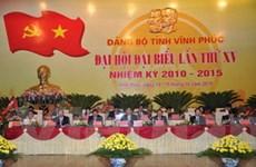 Khai mạc Đại hội đại biểu Đảng bộ tỉnh Vĩnh Phúc