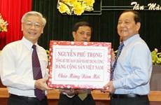 Tổng Bí thư thăm, chúc Tết Thành phố Hồ Chí Minh