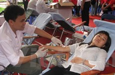 Dự kiến thu 5.000 đơn vị máu tại Lễ hội Xuân hồng