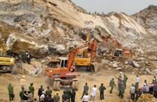 MTTQ hỗ trợ các gia đình nạn nhân vụ sập mỏ đá