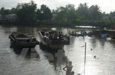 Thấy xác 2 nạn nhân vụ sạt lở bờ sông ở Cần Thơ