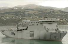 Hải quân New Zealand-Mỹ kết thúc cuộc tập trận