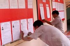 Tích cực hoàn tất công tác chuẩn bị cho bầu cử